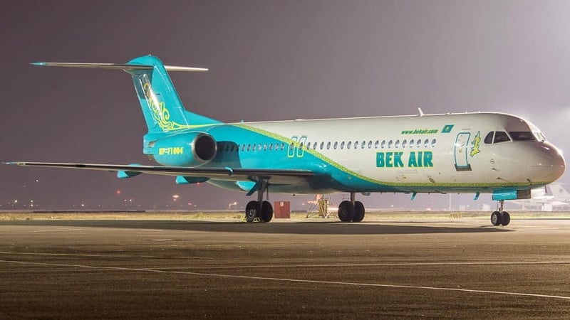 Казахстанская авиакомпания Bek Air