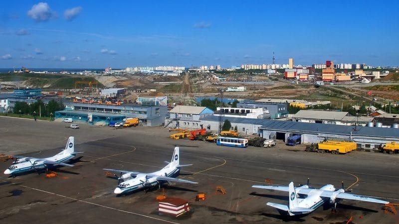 Информация об аэропорте в Мирном (Республика Саха Якутия)
