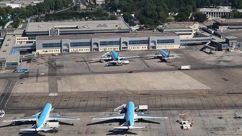 Международный аэропорт Ташкент имени Ислама Каримова