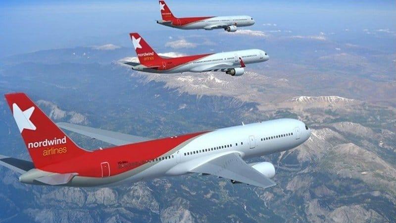 Парк самолетов авиакомпании Норд Винд