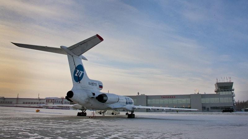 Региональный аэропорт Талакан (Республика Саха, Якутия)