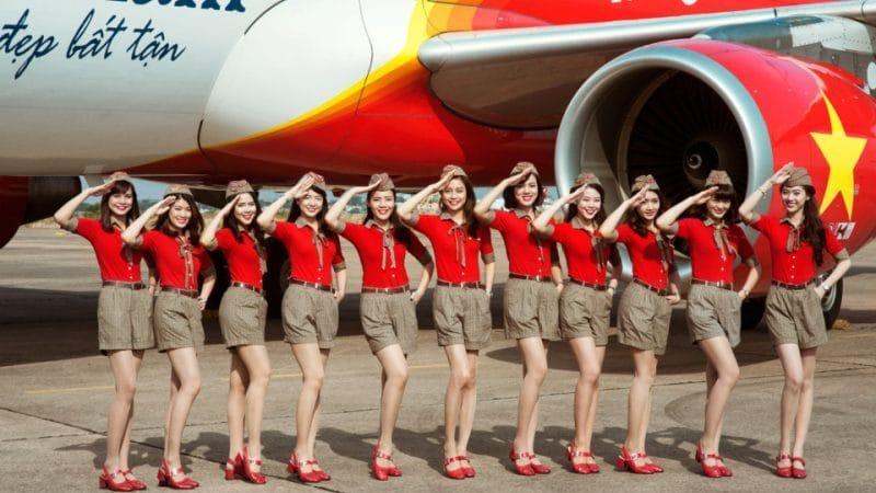 Бюджетная интернациональная авиакомпания Вьетнама VietJet Air