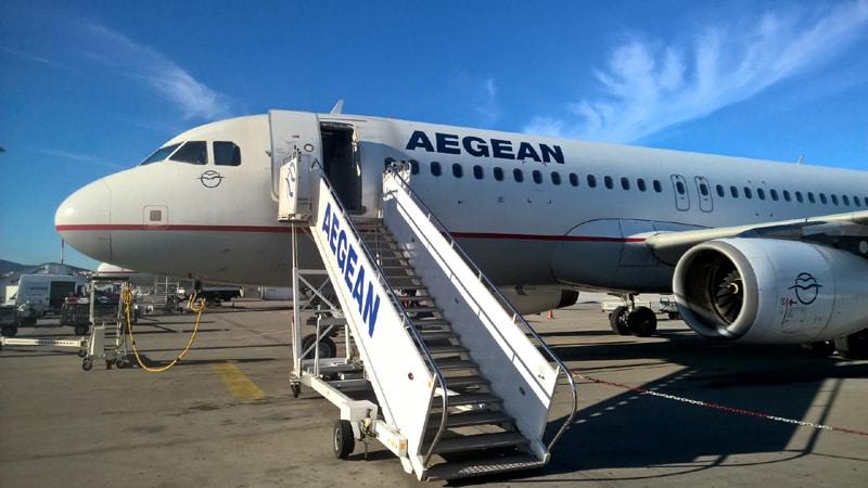 Крупнейшая греческая авиакомпания Aegean Airlines