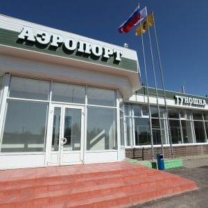 Ярославский аэропорт Туношна в одноименном сельском поселении
