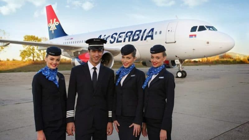 "Сербская национальная авиакомпания ""Air Serbia"""