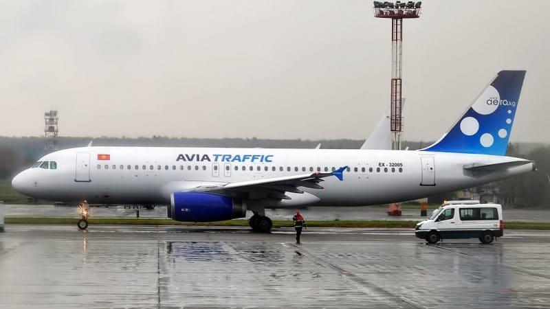 """Киргизская авиакомпания """"Avia Traffic Company"""""""