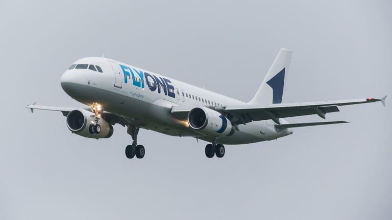 Бюджетная молдавская авиакомпания Fly One