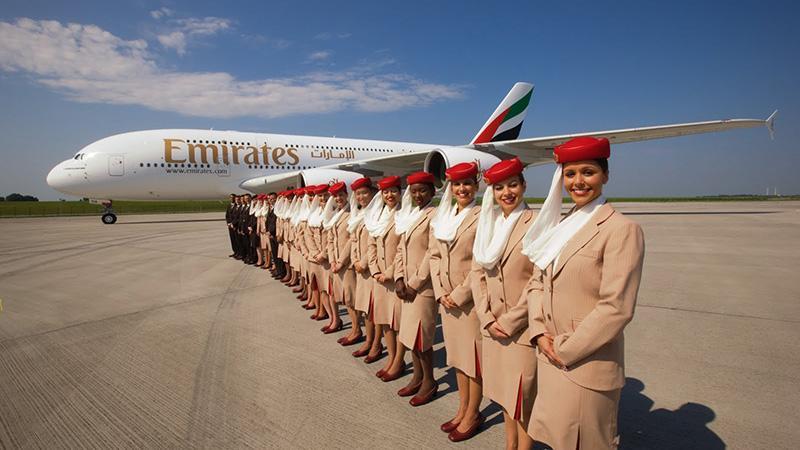 """Одна из крупнейших авиакомпаний в мире """"Emirates Airlines"""""""