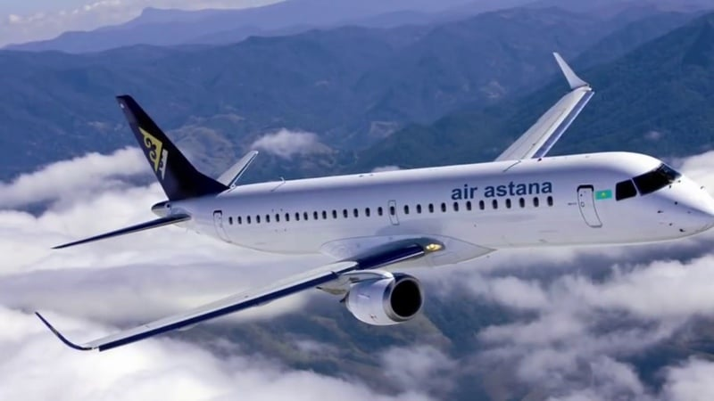 "Национальный авиаперевозчик Казахстана ""Air Astana"" (Эйр Астана)"