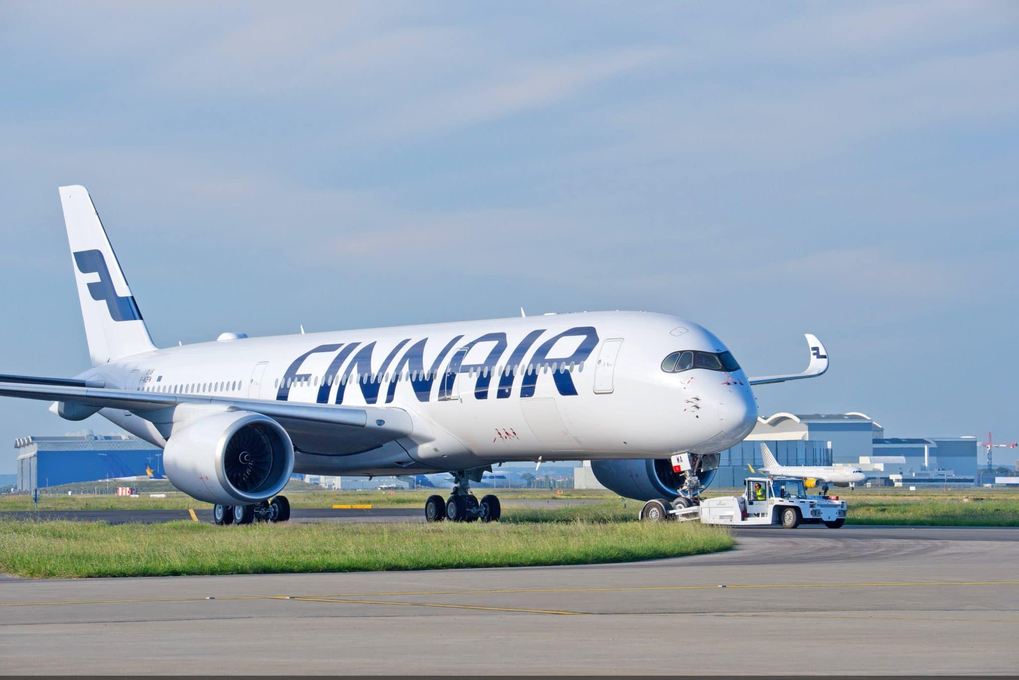 Государственный авиаперевозчик Финляндии Finnair (Финские Авиалинии)