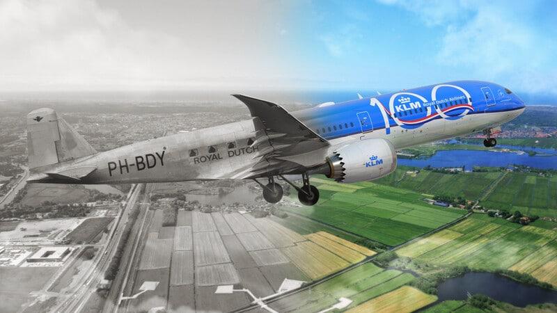 Голландская авиакомпания KLM (Koninklijke Luchtvaart Maatschappij, Королевская авиационная компания)