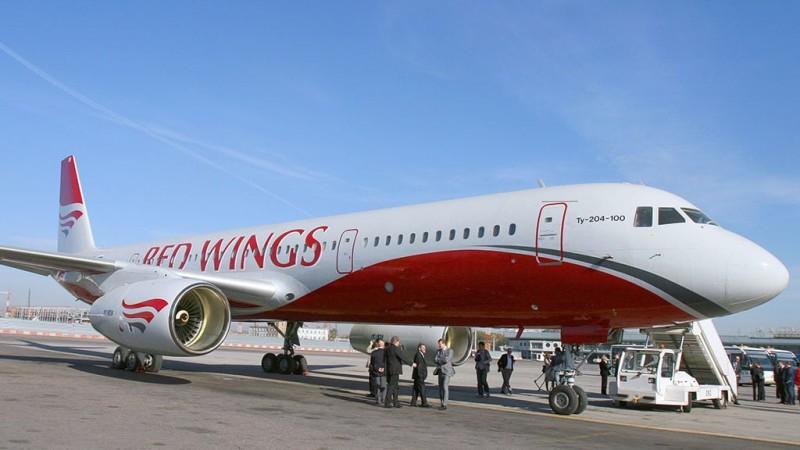 Регистрация на рейс Red Wings онлайн поэтапно