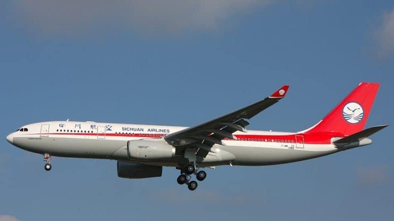 """Крупная региональная авиакомпания Китая """"Sichuan Airlines"""""""