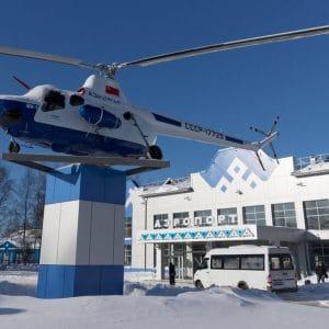 Гражданский аэропорт Ухта в Республике Коми