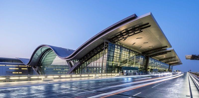 """""""Хамад"""" гражданский аэропорт Доха (Катар)"""