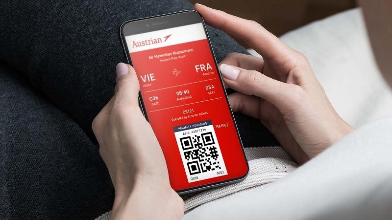 "Как пройти онлайн регистрацию на рейс Австрийских авиалиний ""Austrian Airlines"""