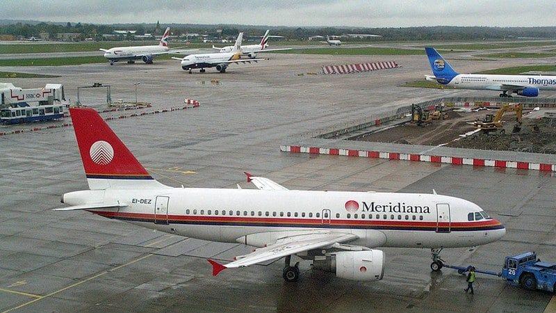 """Российская авиакомпания """"Меридиан"""""""