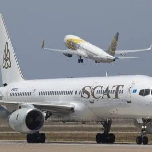 Крупная казахстанская авиакомпания СКАТ Эйрлайнс (SCAT Airlines)