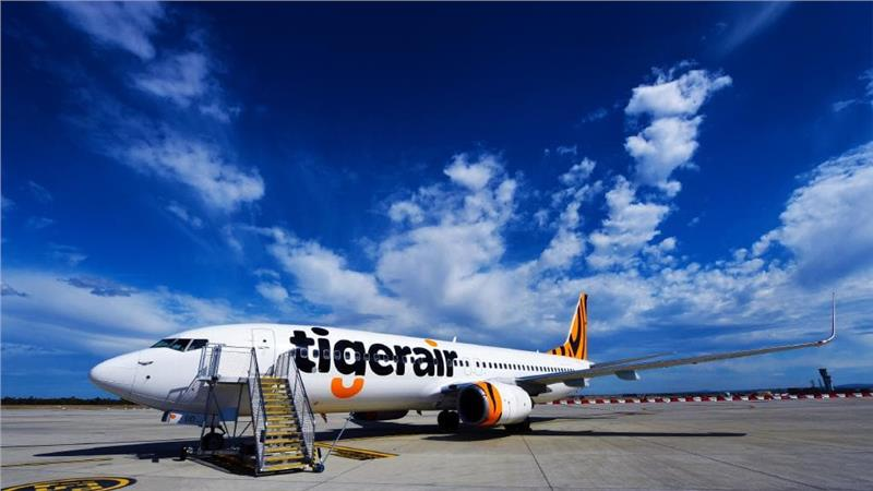 "Бюджетная авиакомпания Сингапура ""Tiger Airways Singapore"""
