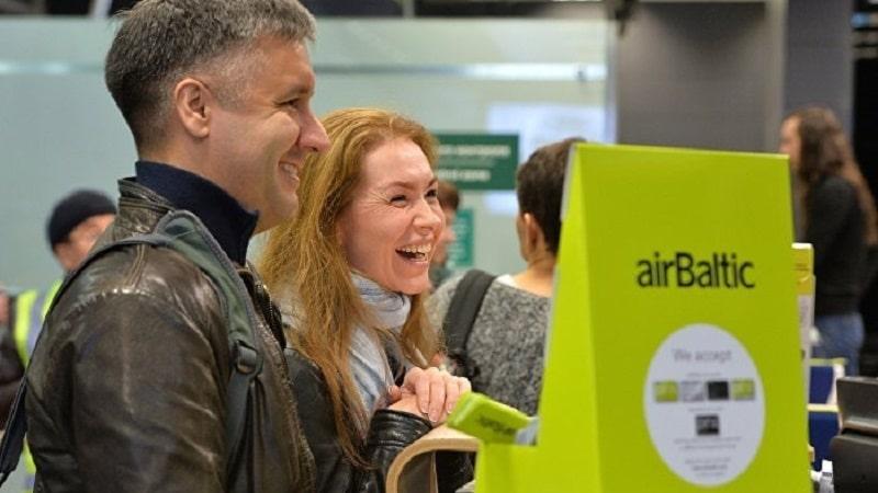 AirBaltic регистрация на рейс различными методами