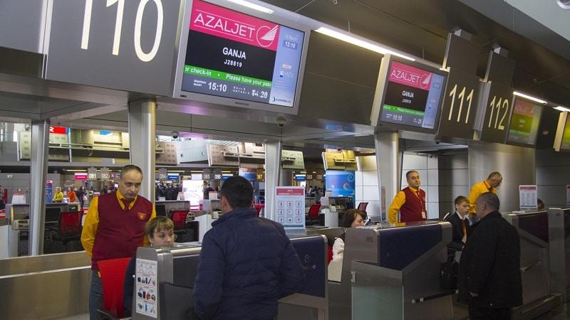 Как правильно пройти регистрацию на рейс АЗАЛ (Азербайджанских Авиалиний)